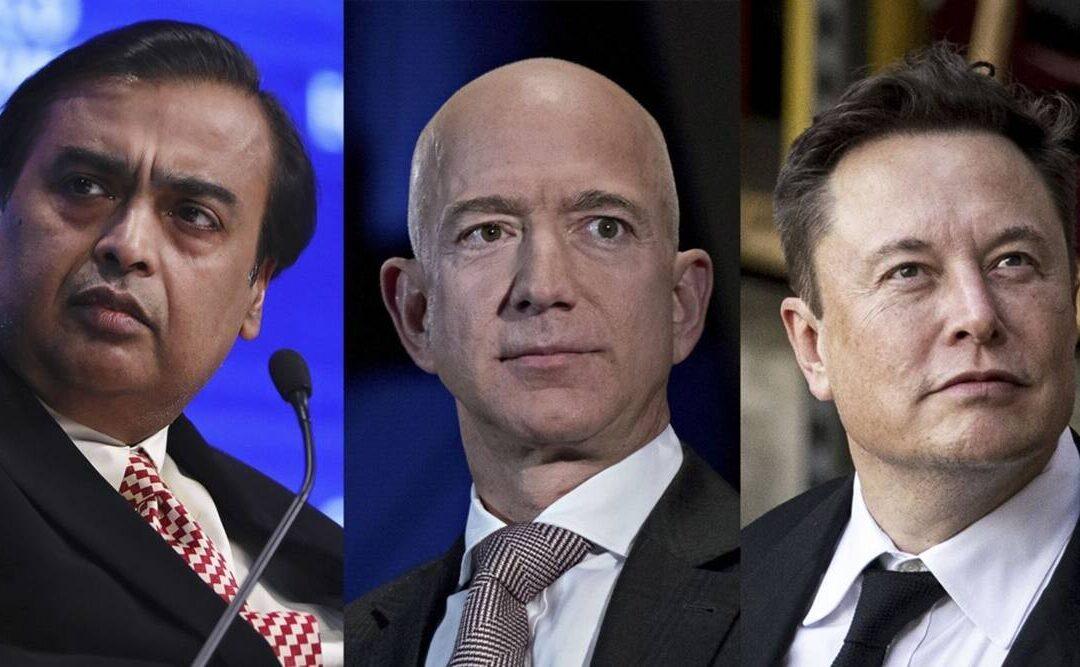 Ambani Joins Bezos, Musk in $100 Billion Club...