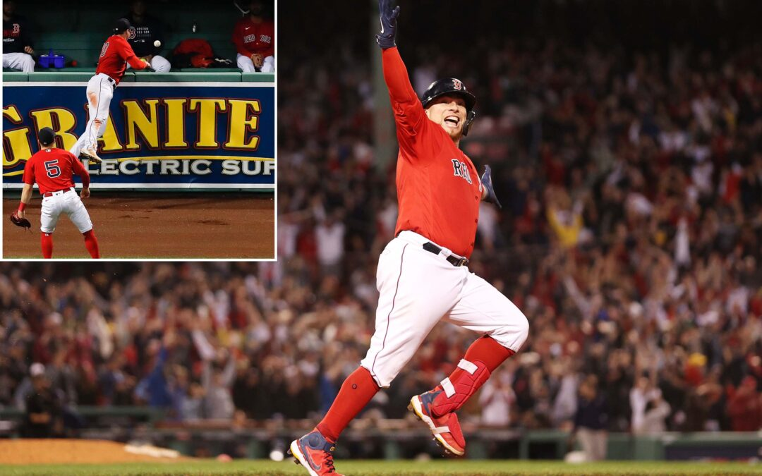 Obscure, controversial play saves Red Sox in ALDS Game 3 win over Rays