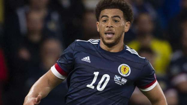 Injured striker Adams misses out for Scotland in Faroes