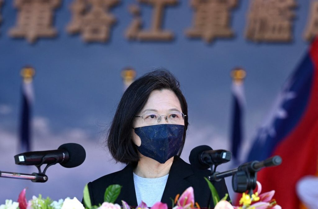Taiwan President: Our People 'Will Not Bow to Pressure' from Communist China