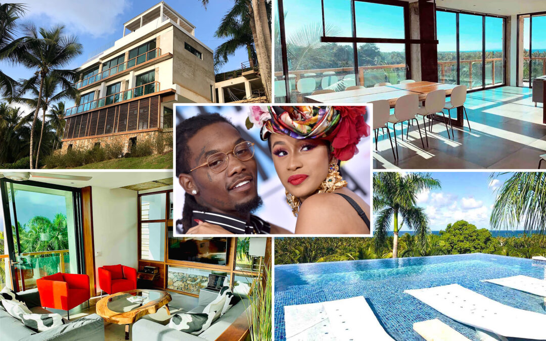 Inside Cardi B's new Dominican Republic mansion gifted by Offset for her birthday