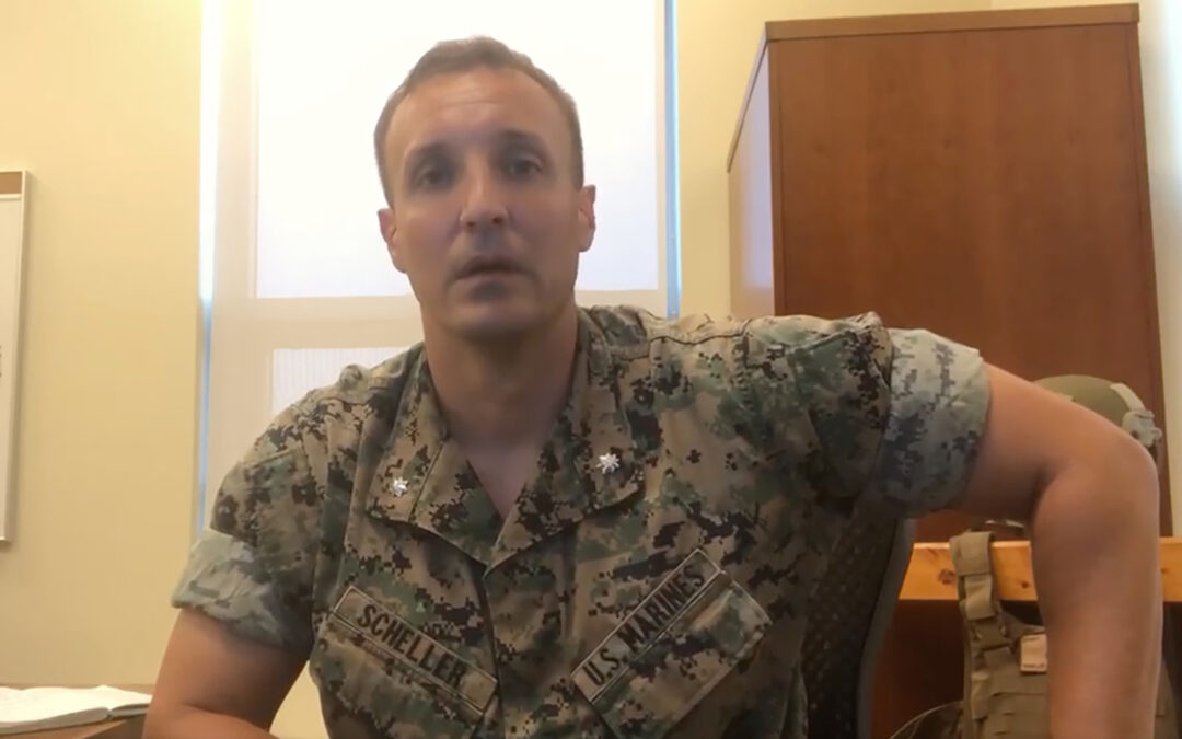 Marine to plead guilty at court-martial over viral video attacking Afghan exit