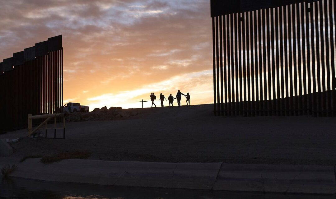 Middle-Class Migrants Fly to Mexico, Then Cross U.S. Border Illegally...