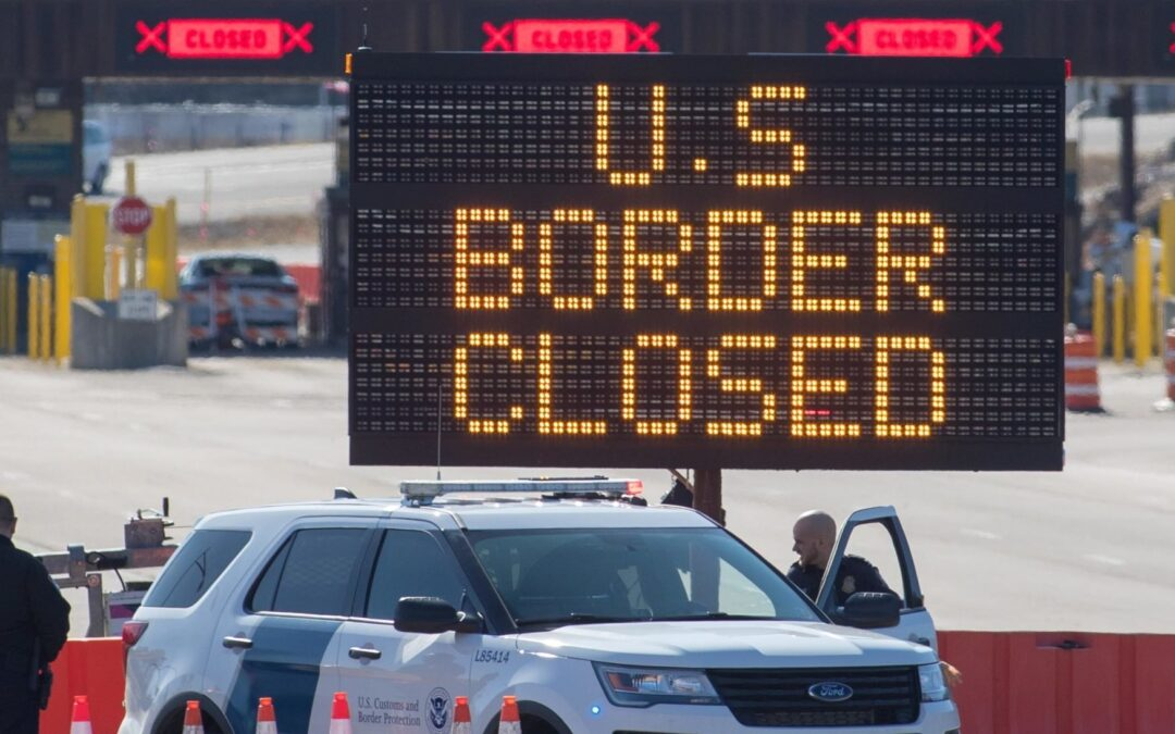 Biden Administration To Lift Canada, Mexico Land Border Travel Restrictions For Fully Vaccinated Foreign Nationals