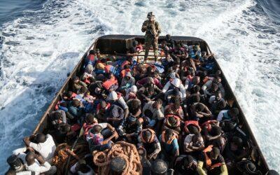 Italian captain given jail term for returning migrants to Libya