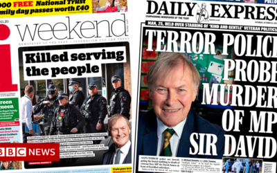 The Papers: MP safety review and terror cops probe death
