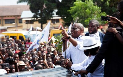 Thousands protest in DR Congo to demand neutral poll body