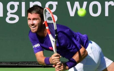 Britain's Norrie reaches Indian Wells final with win over Dimitrov