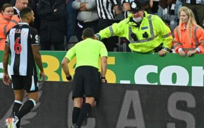 Fan 'stable' after Newcastle-Spurs game halted